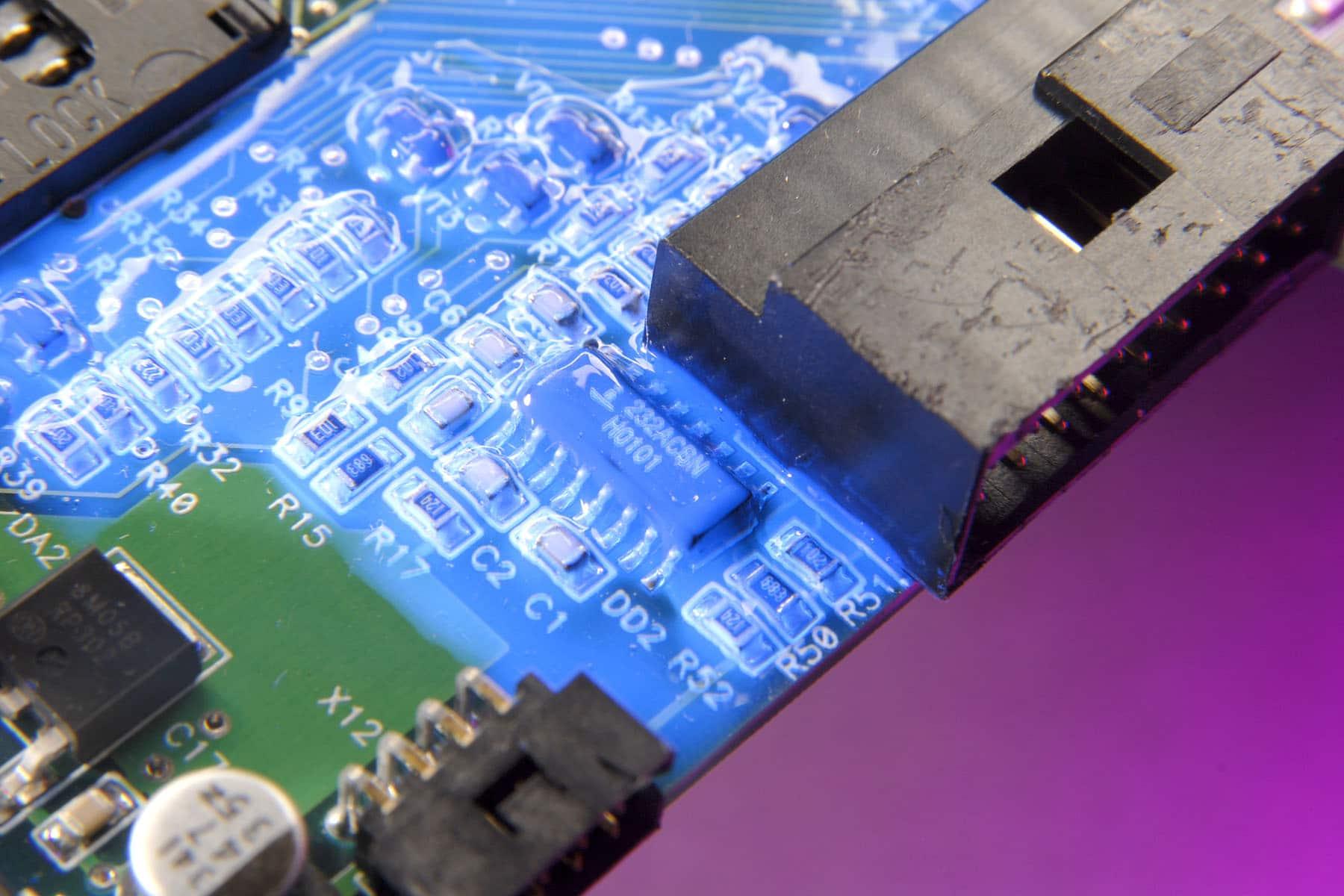 New Light Cure Conformal Coating Electronics Cooling