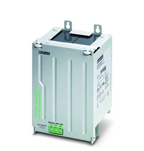 Lead Acid Battery >> Lithium-Ion Battery Option for DIN Rail Industrial UPS ...