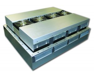 High Efficiency Thermoelectric Air Conditioners