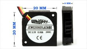New Micro-Sized DC Blower Virtually Silent
