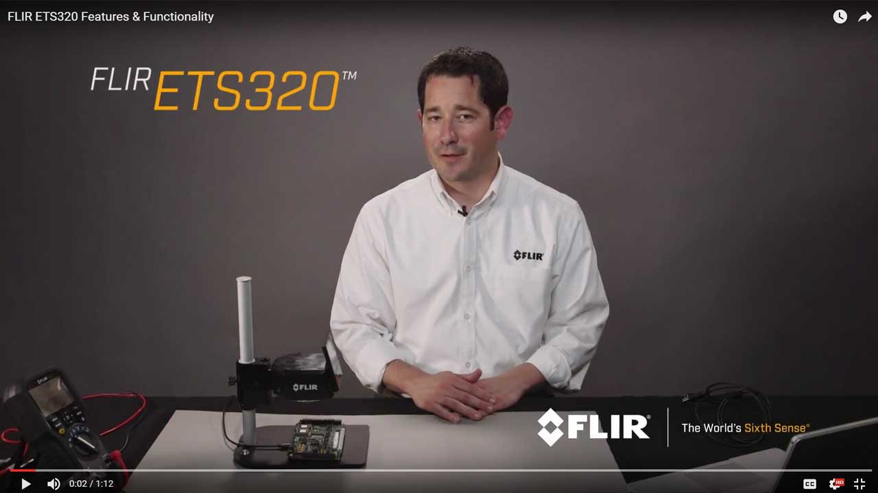 FLIR ETS320 Features Video