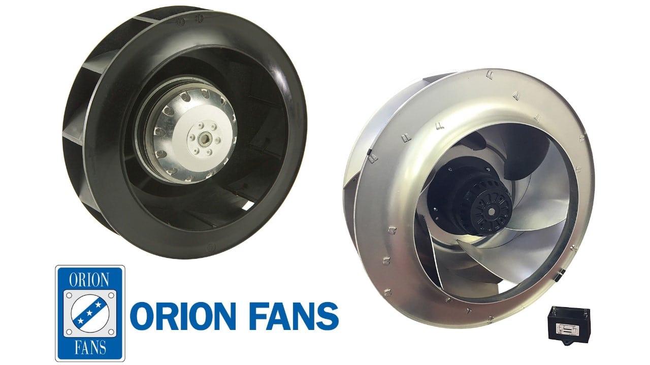 Orion Fans Adds New Dc Motorized Impeller Line